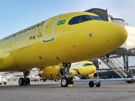 Aviação: Itapemirim Transportes Aéreos incorpora quarto Airbus A320 à sua malha