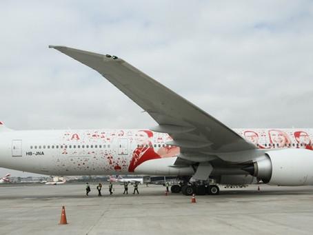SWISS vai voar com o novíssimo Boeing 777-300ER entre a Europa e o Brasil durante os Jogos Olímpicos