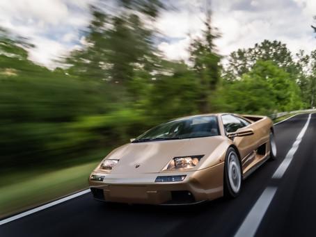 Lamborghini celebra o 30º aniversário do Diablo