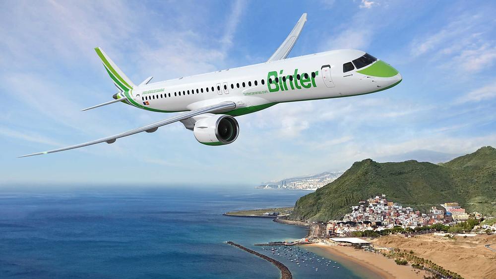 Embraer e Binter assinam pedido firme para dois novos jatos E195-E2