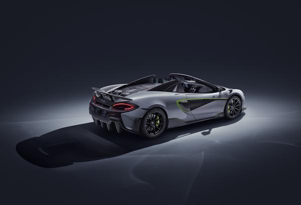O 600LT Spider da McLaren ainda mais espetacular no Salão de Genebra