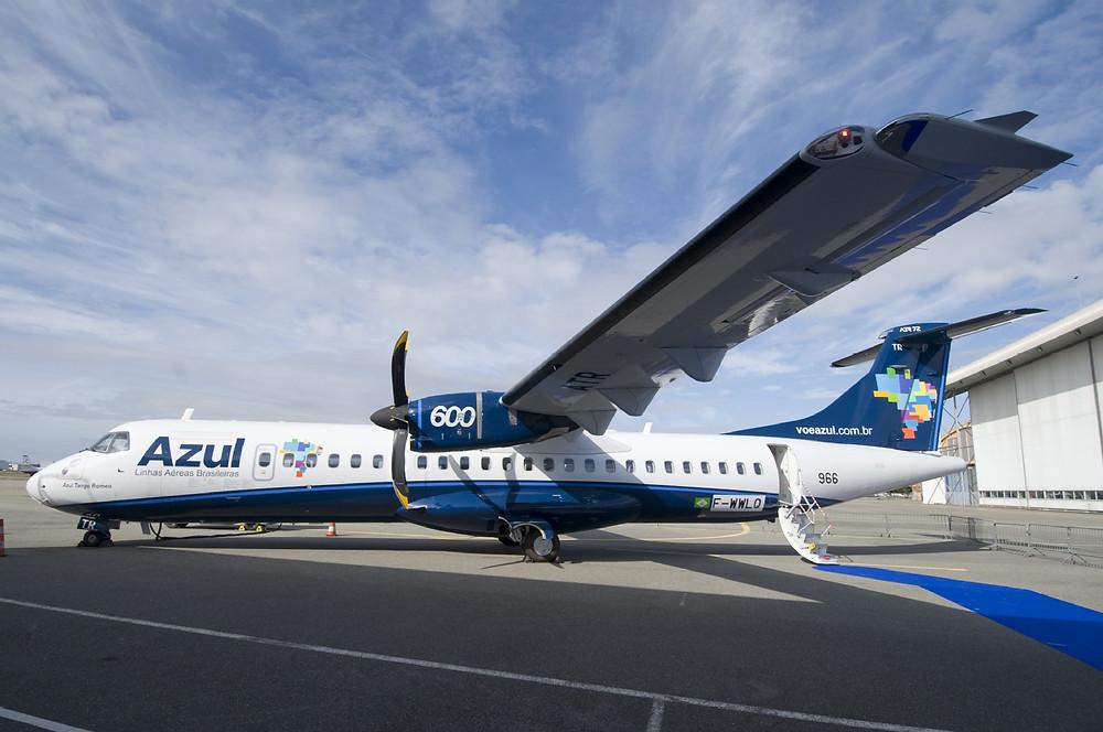 Sorriso recebe voo inaugural da Azul e entra para o mapa da aviação regional