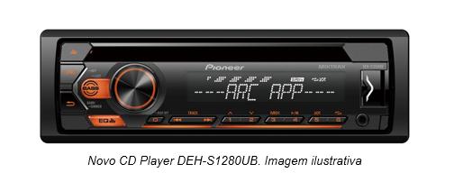 Pioneer atualiza sua linha de CD Players com lançamentos para linha automotiva