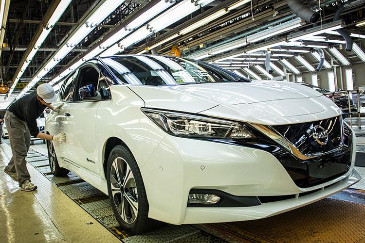 Produção da nova geração do Nissan Leaf começará ainda este ano nos Estados Unidos e no Reino Unido