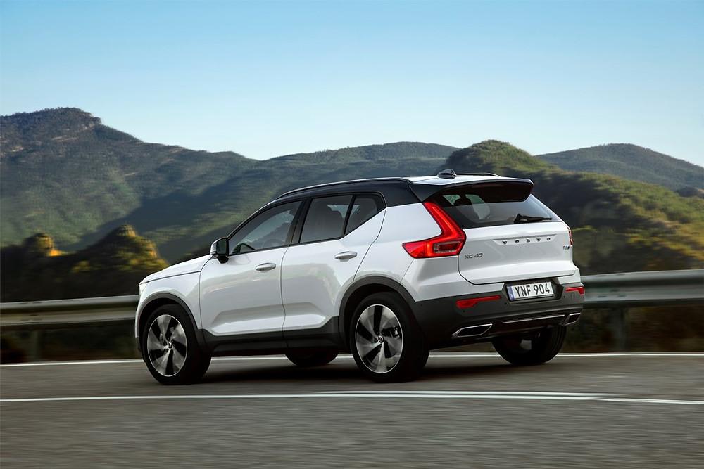 Volvo Cars aumenta produção do XC40 para atender forte demanda