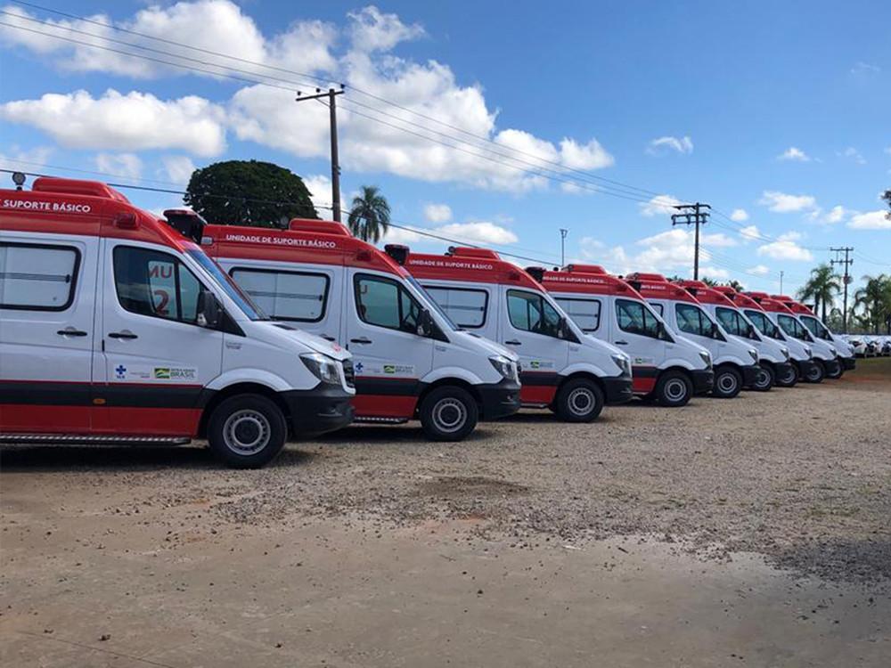 Ministério da Saúde recebe 280 ambulâncias Sprinter este ano