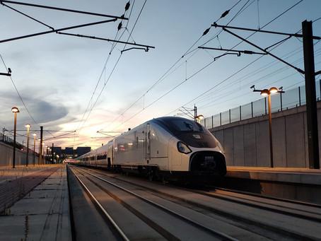 Ferrovia: A 360 km/h, Talgo Avril faz testes no corredor de alta velocidade Madrid-Galiza