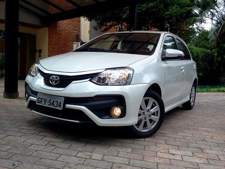 Avaliação: Toyota Etios, um compacto muito equilibrado e confiável