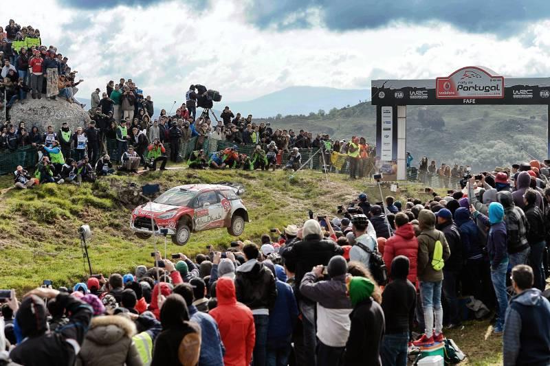 Milhares de espectadores acompanharam os quatro dias de Rally de Portugal