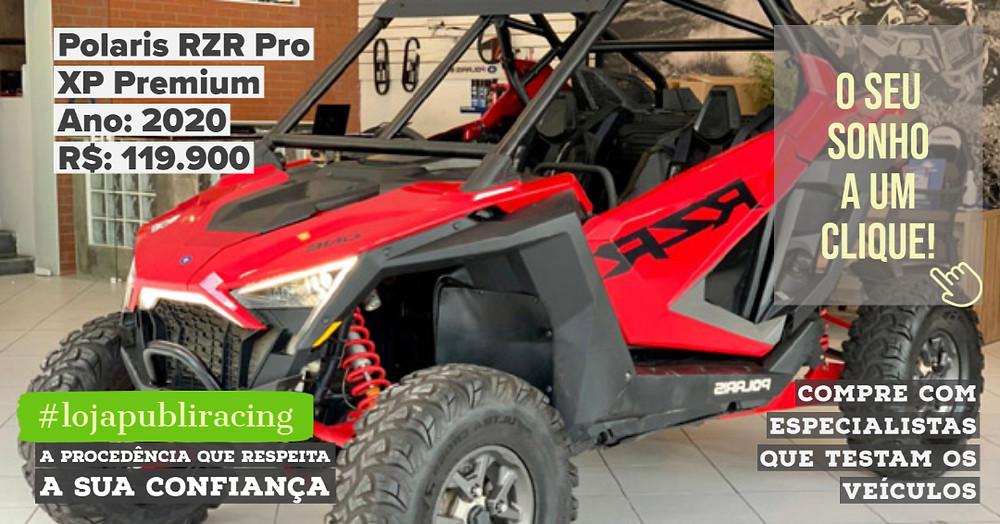 ACESSE #LOJA PUBLIRACING - Polaris RZR Pro XP Premium