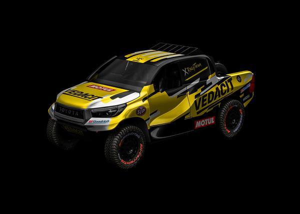 X Rally Team testa em prova portuguesa Toyota que estará no Sertões 2020