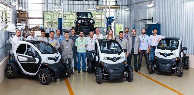 Pesquisa Desenvolvimento e Montagem de Veículos Elétricos de Itaipu (CPDM-VE/IB), em Foz do Iguaçu (PR)