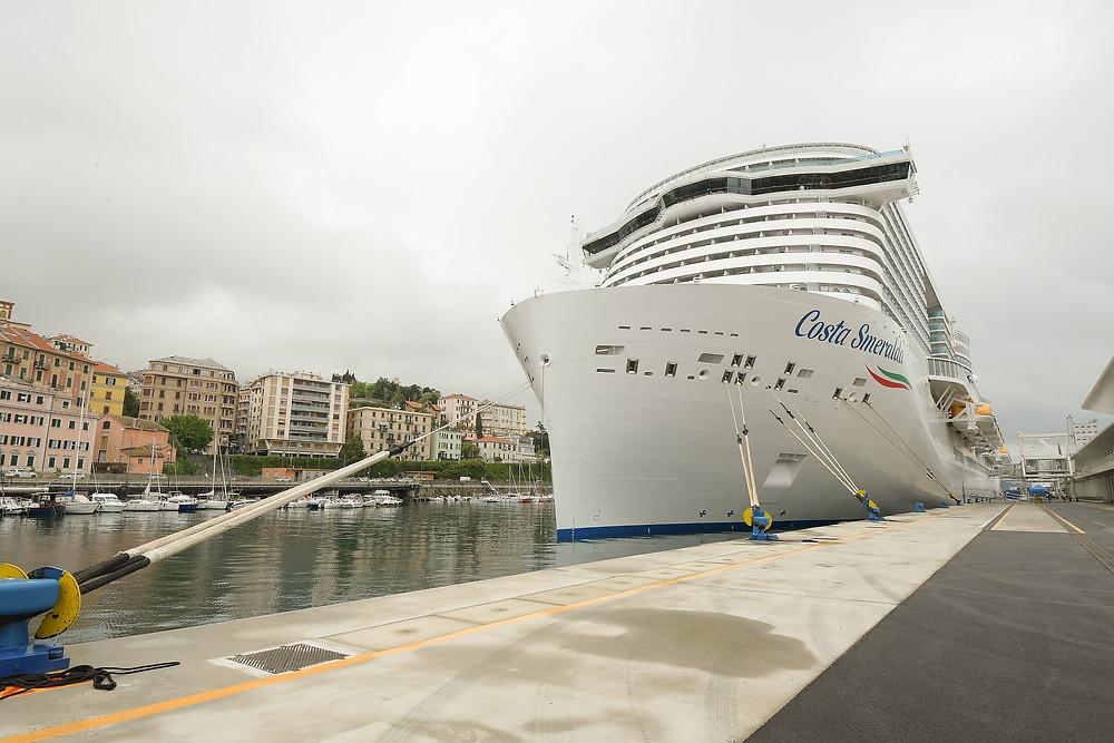 Turismo: Costa Cruzeiros reinicia viagens com seu flagship Costa Smeralda