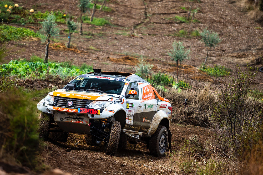 Nuno Matos com dia de recuperação na Baja TT do Pinhal