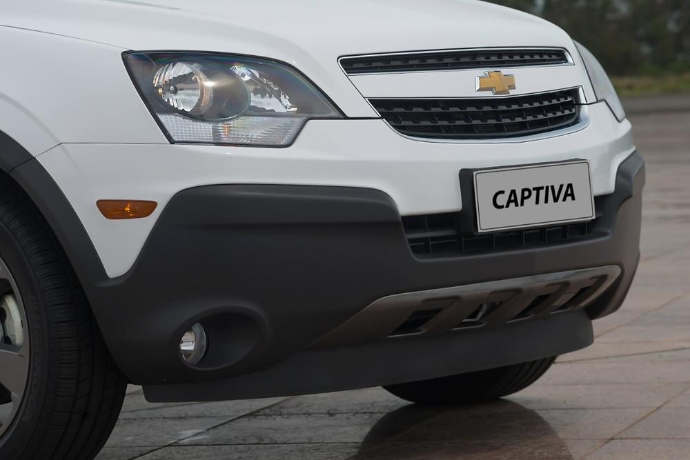 Linha 2016 do Captiva chega mais aventureiro