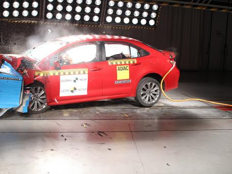 LatinNCAP: Mais uma vez destaque na segurança, Toyota consegue 5 estrelas com o novo Corolla