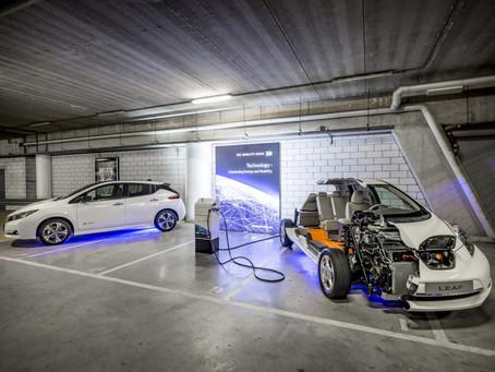 Nissan participa de sistema de armazenamento de energia, inaugurado em estádio na Holanda
