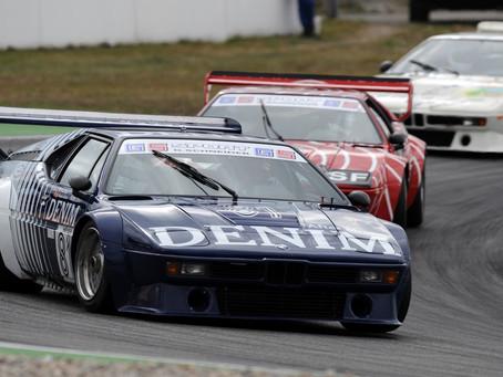 BMW celebrou os 40 anos do BMW M1 na etapa da DTM em Norisring