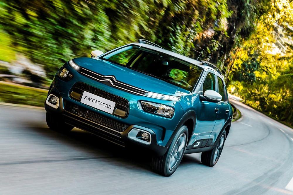 PSA inicia a produção do novo SUV Citroën C4 Cactus em sua fábrica de Porto Real