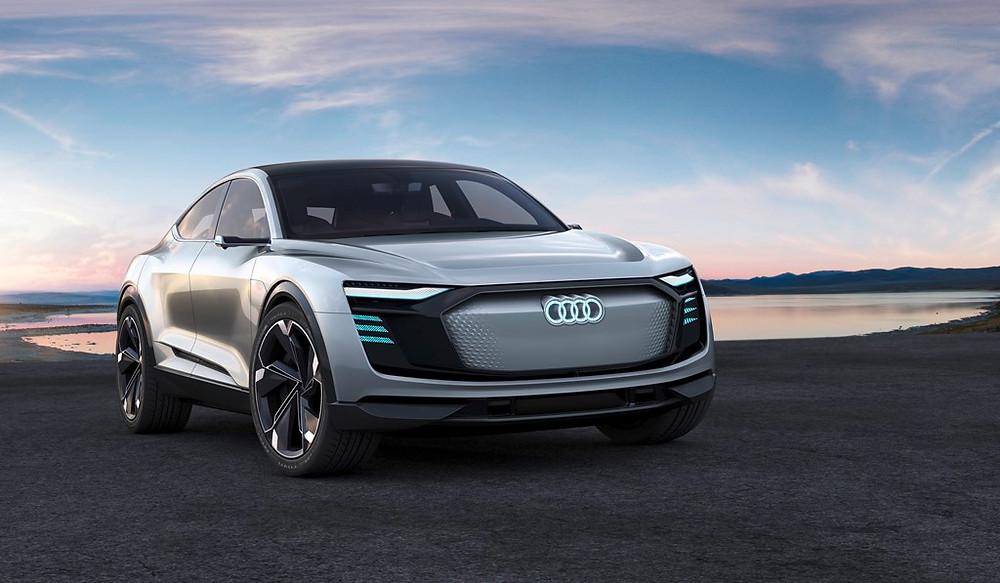 Audi e-tron Sportback concept mais um poderoso elétrico da Audi