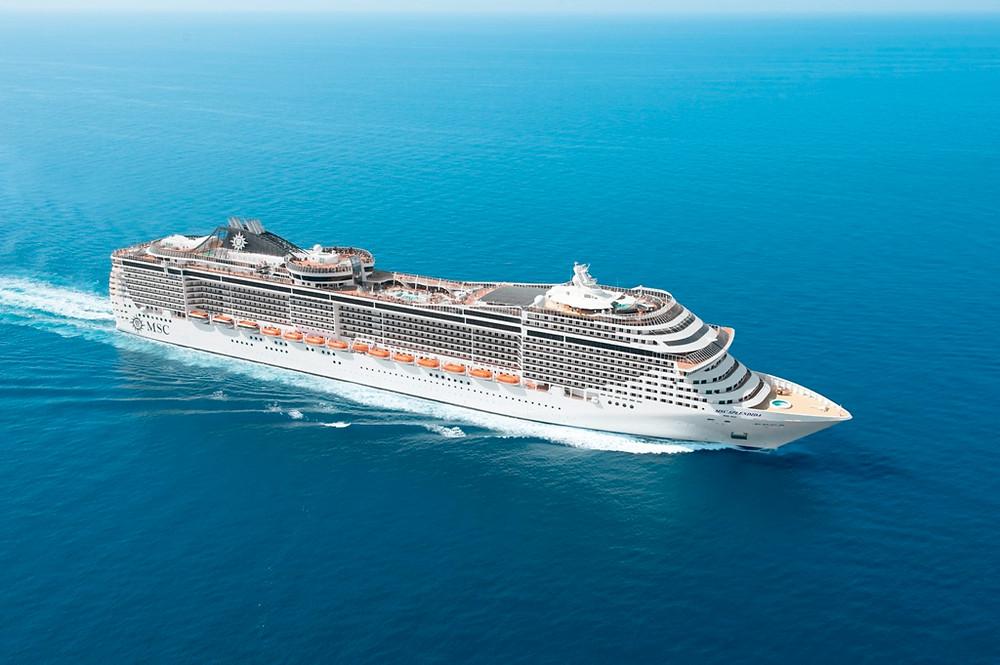 MSC Cruzeiros leva os hóspedes aos destinos mais exóticos do Oriente Médio a bordo do sofisticado MSC Splendida