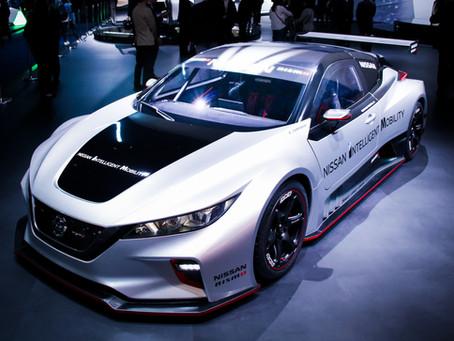 LEAF NISMO RC, carro elétrico de corrida da Nissan com tração integral