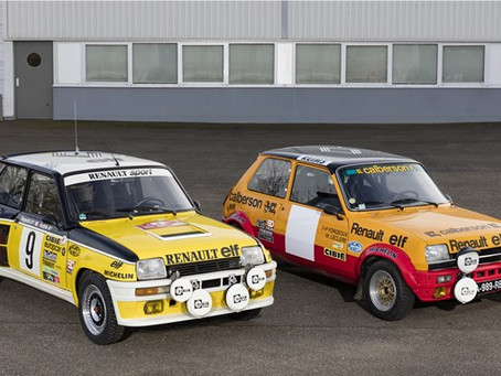 Renault Classic Team com quatro equipes no rali Monte-Carlo Historique 2016.