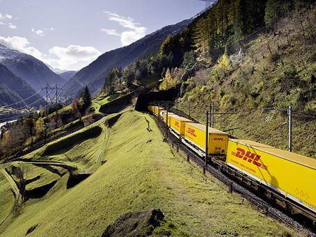 DHL lança um trem direto de frutas e vegetais de Valencia para Roterdã