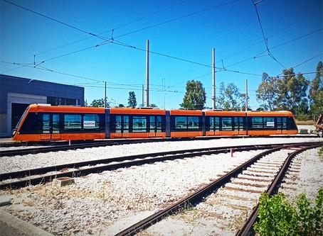 Alstom Espanha entrega os dois primeiros bondes Citadis X05 para Atenas