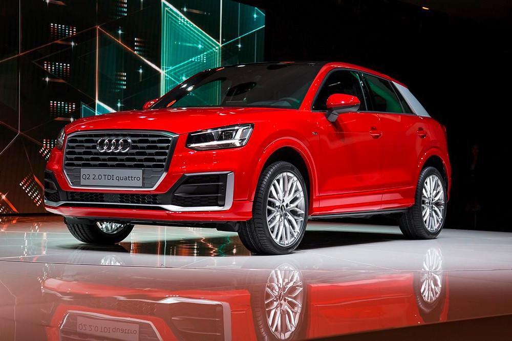 Um novo SUV compacto e duas potentes versões top de linha são os destaques da Audi no Salão de Genebra