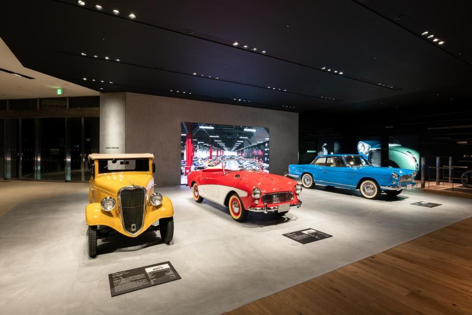 Nissan mostra seus carros históricos na sua sede global