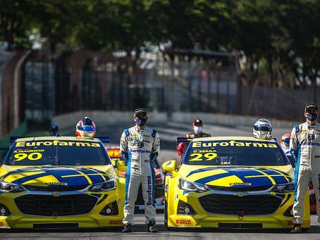Stock Car: Daniel Serra e Ricardo Mauricio, a dupla de tricampeões da Eurofarma-RC