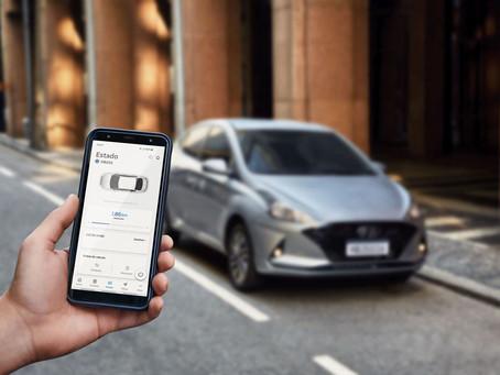 Inicialmente para o HB20, Hyundai lança no Brasil seu sistema de conectividade