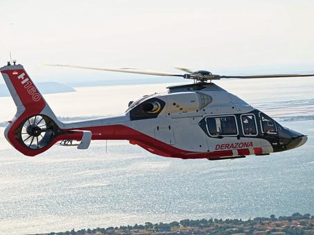 Aviação: Derazona será a primeira operadora do H160 na Ásia em atividades de petróleo e gás