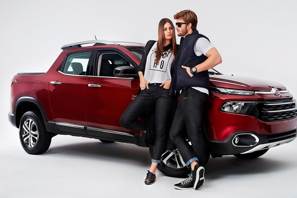 Fiat lança lista de produtos inspirados na novíssima picape Toro