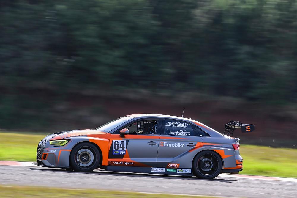 Audi RS3 da Eurobike vence mais uma prova na GT4 do Endurance Brasil