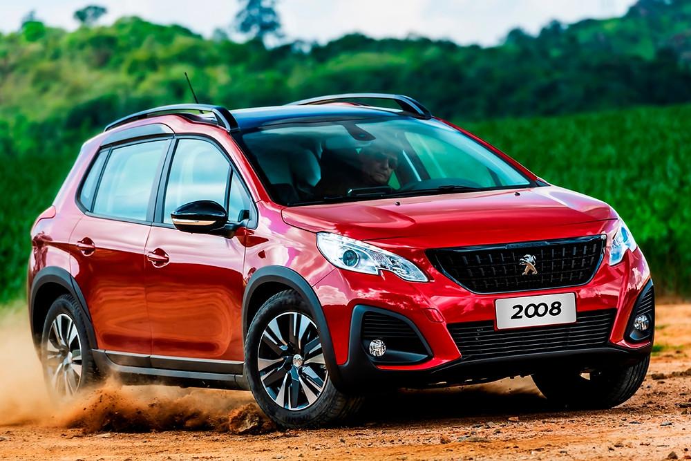 Peugeot apresenta o reestilizado 2008 com duas opções de motor e câmbio automático para todas as versões