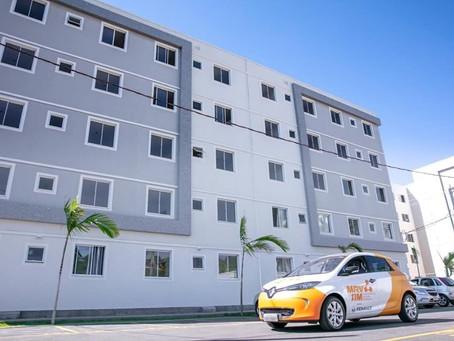 Renault Zoe é oferecido em formato de compartilhamento em novo empreendimento da MRV em Curitiba