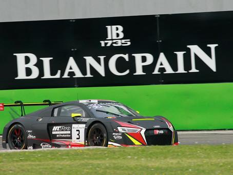 Blancpain GT Endurance: equipe luso-brasileira termina em 16º