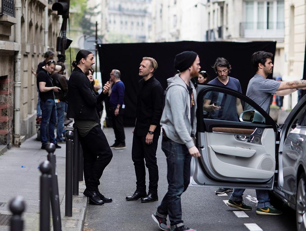 Zlatan Ibrahimovic estrela campanha publicitária do novo Volvo V90
