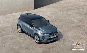 Novo Range Rover Evoque consegue avaliação máxima no Euro NCAP