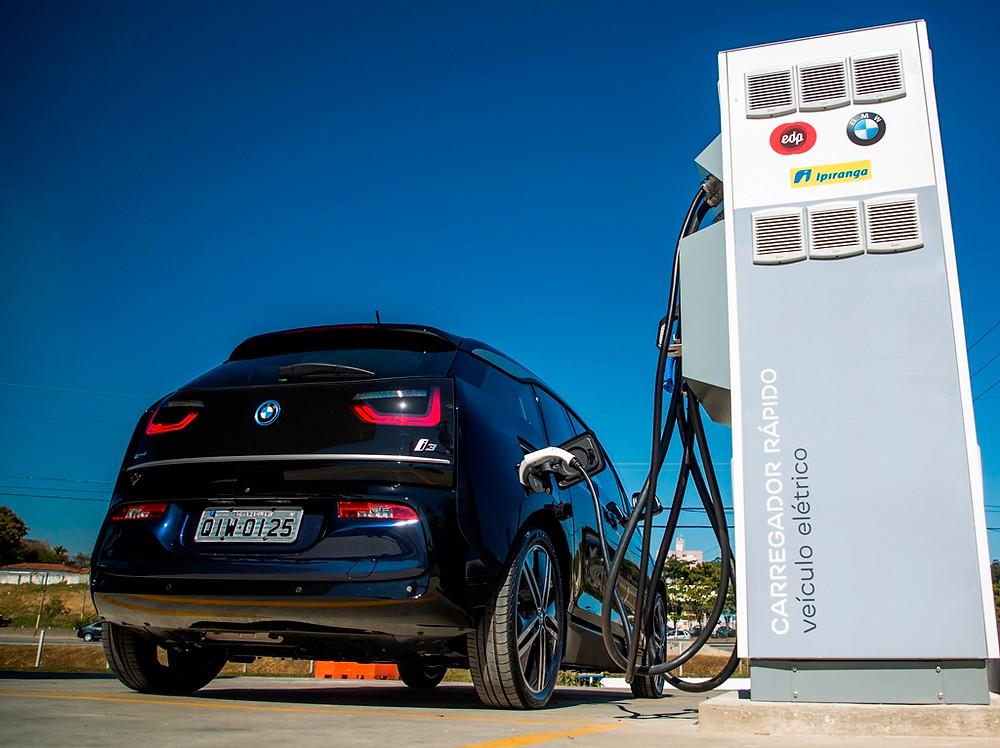 BMW e EDP inauguram corredor para veículos elétricos entre São Paulo e Rio de Janeiro