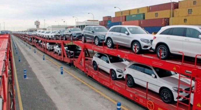 DB Cargo lança trem de transporte de carros entre a Alemanha e Barcelona