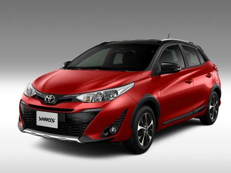 Com apenas 7,1% de depreciação em um ano de uso, Toyota Yaris vence selo Maior Valor de Revenda
