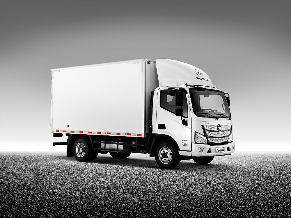 Foton lança a família Aumark S no Brasil, nova geração de caminhões urbanos