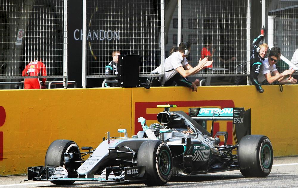 Vitória de Nico Rosberg na China