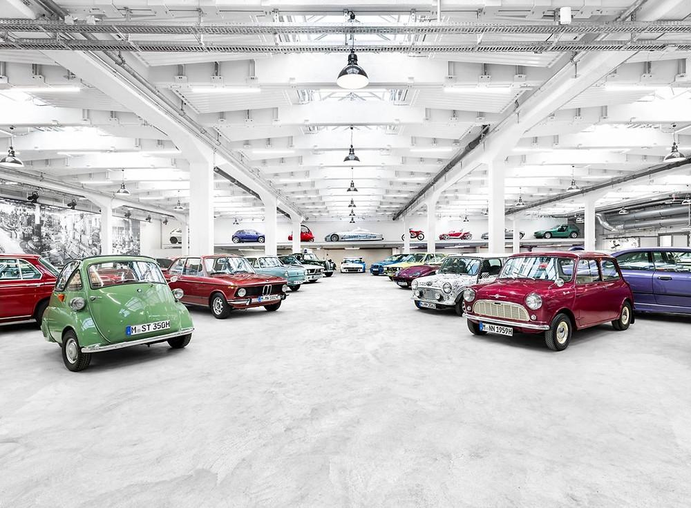 Os clássicos do grupo BMW na Techno Classica 2018