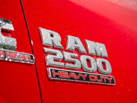 Recall: Proprietários da RAM 2500 são chamados para eventual substituição da bomba d'água do motor