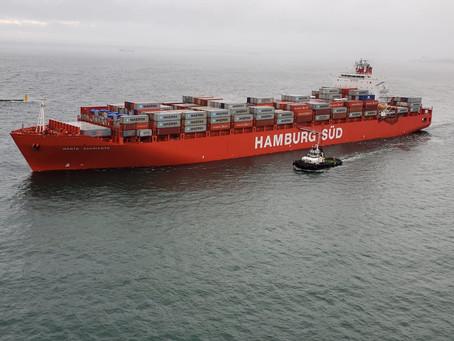 Expressas: Navio carregado com 100% de carga doméstica, mostra importância do modal