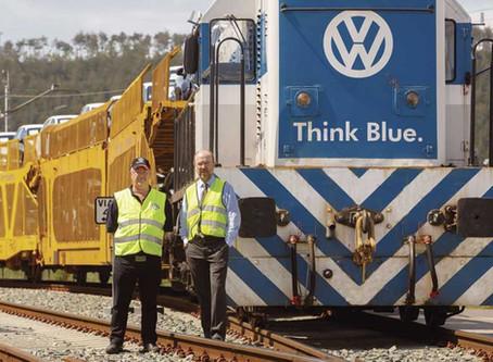 EDITORIAL: Volkswagen escolhe ferrovia, em mais uma lição para o Brasil.